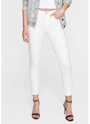 Mavi Jean Pantolon | Tess - Super Skinny Beyaz